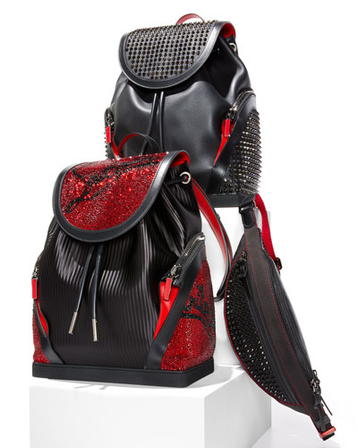 Men's Paris NYC Spike Belt Bag/Fanny Pack