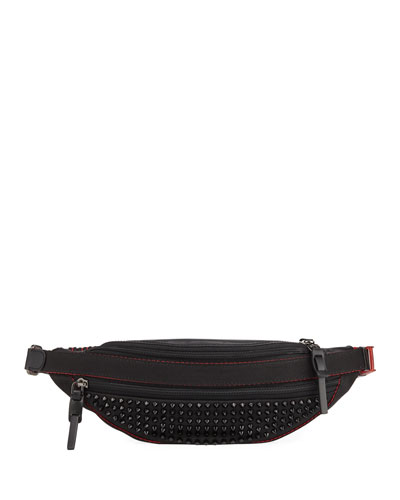 Men's Paris NYC Spike Belt Bag/Fanny Pack