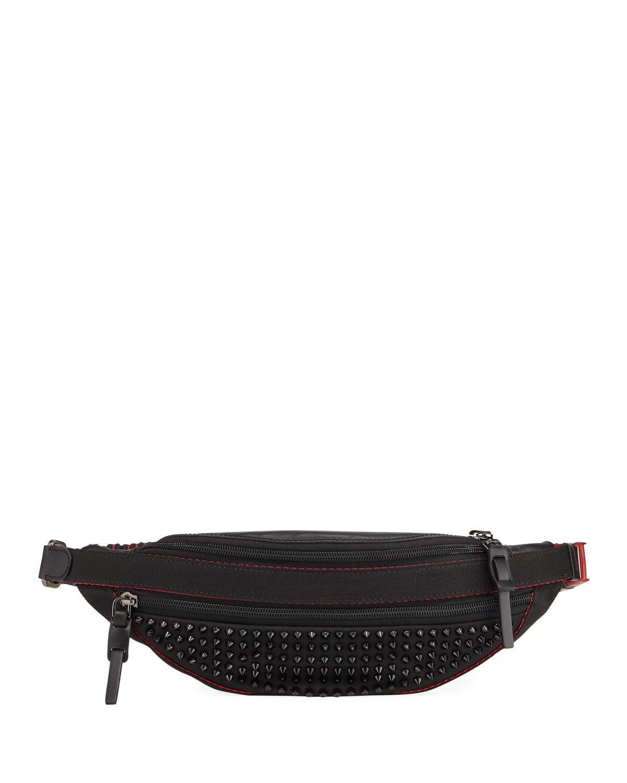 0427731ae3d Men's Paris NYC Spike Belt Bag/Fanny Pack