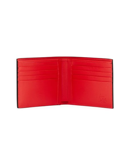 Christian Louboutin Men's Coolcard Two-Tone Leather Wallet