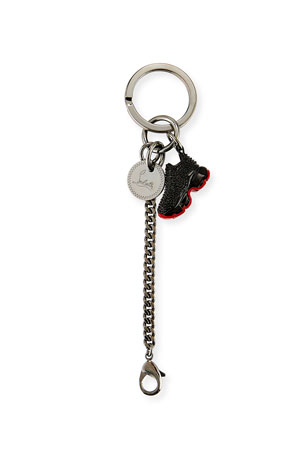 Christian Louboutin Men's Running Shoe Key Ring
