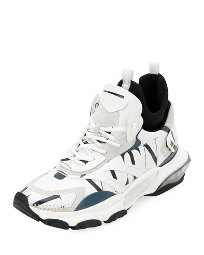 Men's Bounce High-Top Lace-Up Sneakers