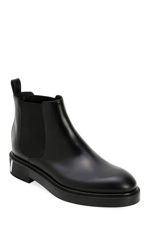 Valentino Garavani Men's Leather Chelsea Boots