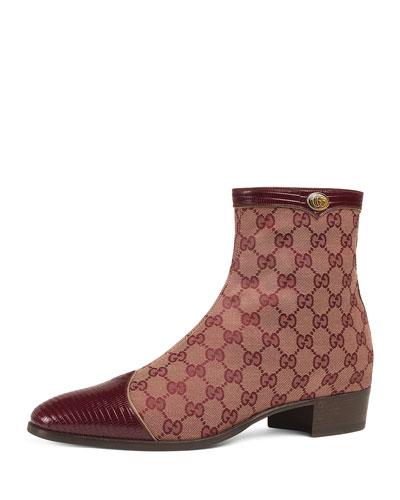Men's Plata Original Canvas Ankle Boots