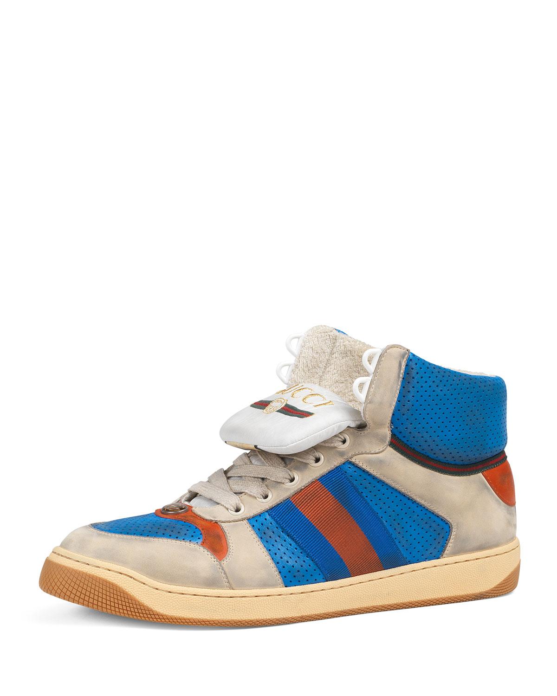 163ff867b27 Gucci Men s Screener High-Top Sneakers