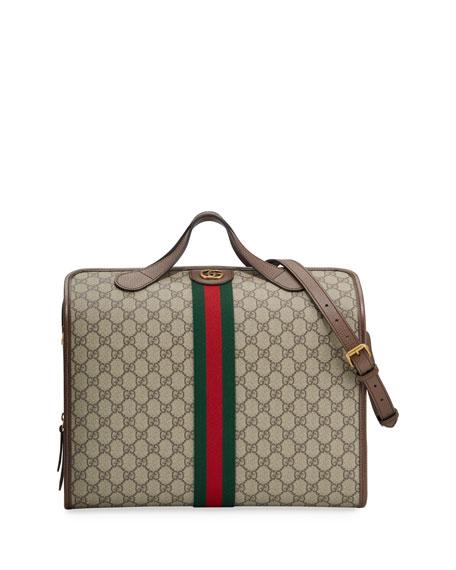 Gucci Men's GG Supreme Bowler Bag