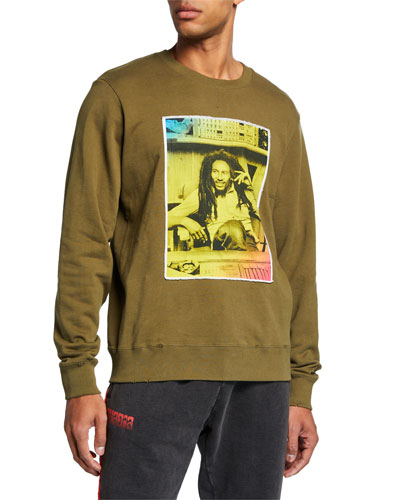 Men's Bob Marley Photo Sweatshirt