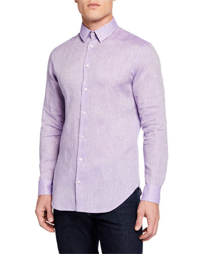 Men's Solid Sport Shirt