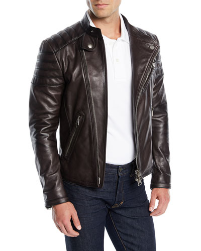 Men's Icon Leather Biker Jacket