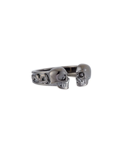 Men's Decorative Skull Ring  Size 10