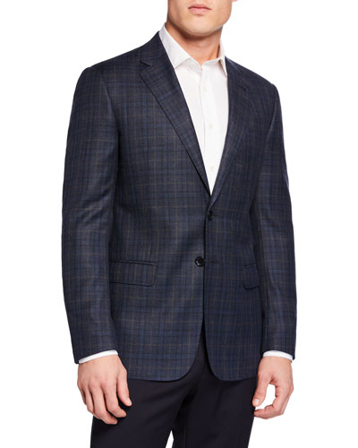 Men's Plaid Sport Coat