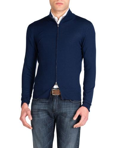 Men's Wool Full-Zip Jacket