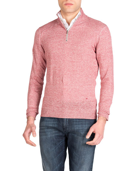 Isaia Sweaters MEN'S LINEN-COTTON SWEATER