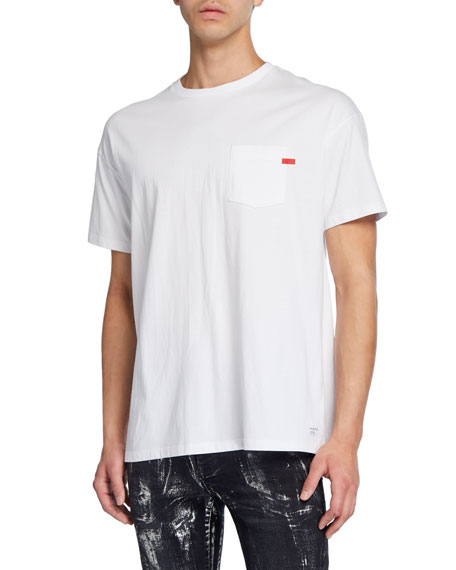 PURPLE Men's Relaxed-Fit Pocket T-Shirt