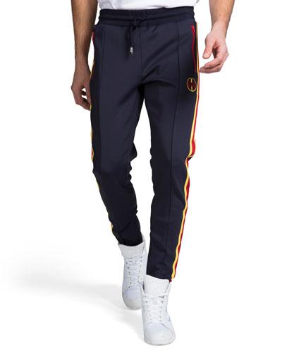 Men's Stripe Track Pants