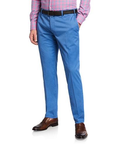 Men's Cotton Stretch Pants