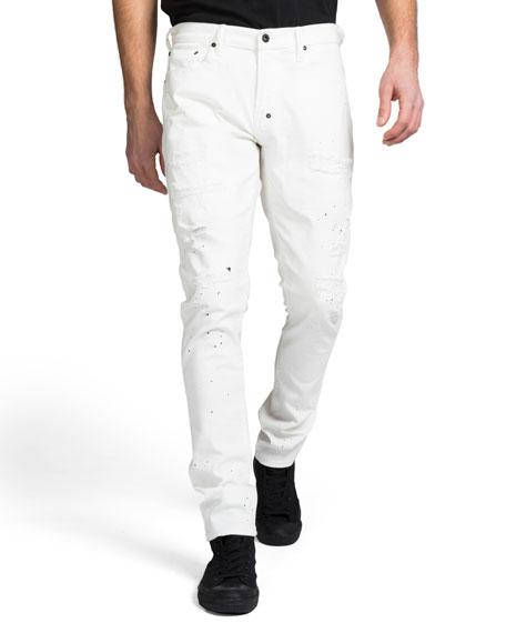 Prps Jeans MEN'S SKINNY-FIT PAINT SPLATTER DENIM JEANS