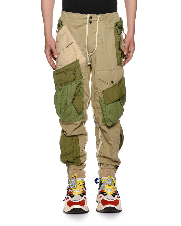 Dsquared2 Men s Multi-Pocket Combat Cargo Pants  9966f49b413
