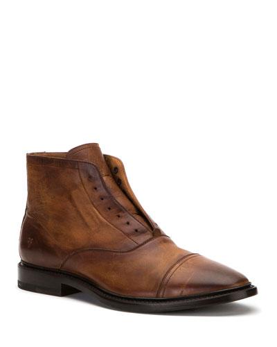 Men's Paul Lace-Up Leather Boots