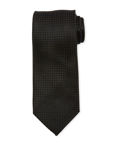 Small Dots Silk Tie