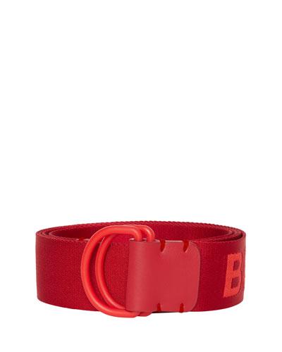 Men's Double D-Ring Nylon Belt