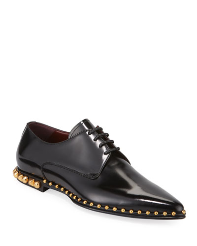 Men's Christmas Evening Studded Dress Shoes