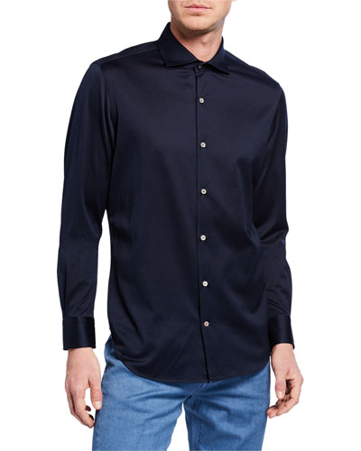 Men's Andrew Jersey Oxford Shirt