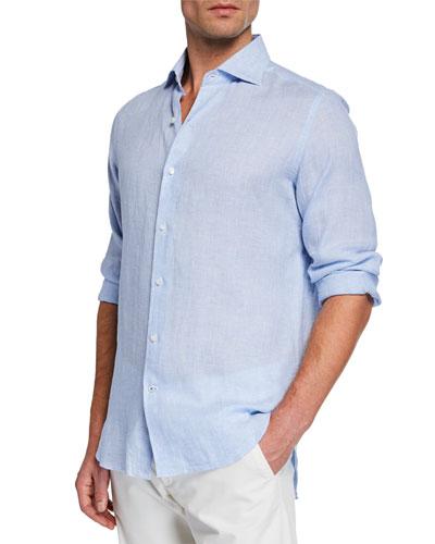 Men's Arizona Linen Sport Shirt