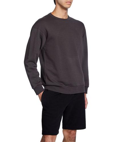 Men's Cure Fleece Lunar Crewneck Sweatshirt