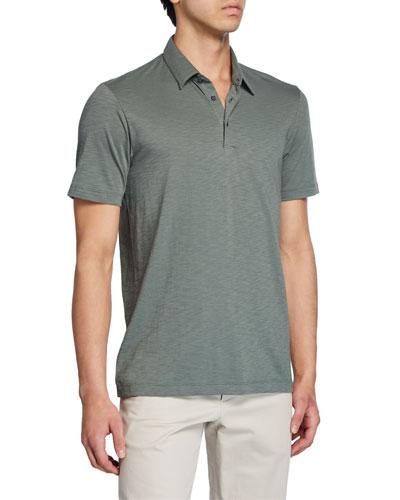 Men's Cosmos Dress Polo Shirt