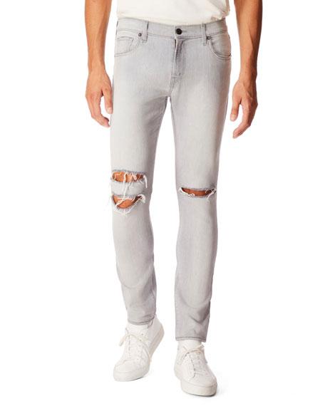 J Brand Jeans MEN'S MICK DISTRESSED-DENIM JEANS