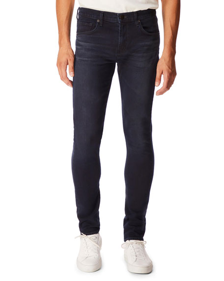 J Brand Jeans MEN'S MICK STRAIGHT-LEG DARK-WASH JEANS