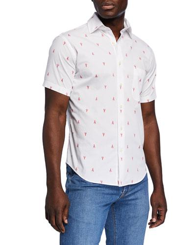Men's Maine Squeeze Short-Sleeve Sport Shirt