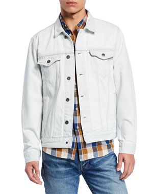 803fa7f6 Levi's Made & Crafted Men's Type III Denim Trucker Jacket