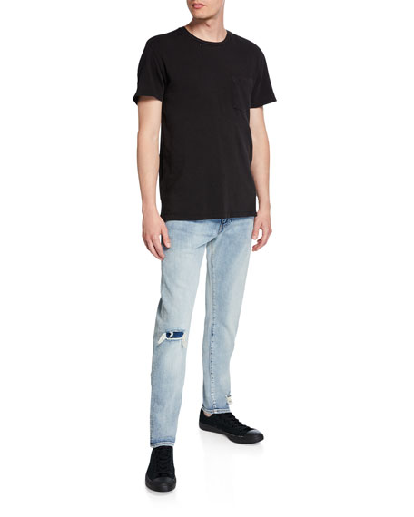 Levi's Made & Crafted Men's 512™ Slim Tapered Knee-Rip Jeans