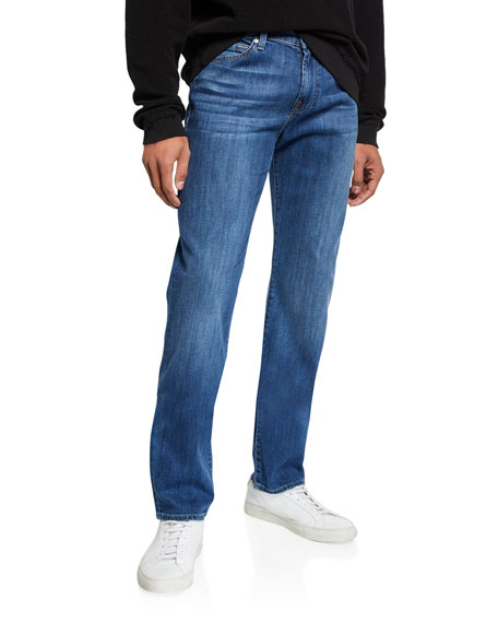 7 for all mankind Men's Slimmy FoolProof Straight-Leg