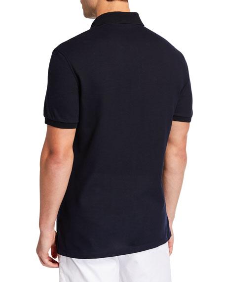 Ermenegildo Zegna Men's Cotton Jersey Polo Shirt