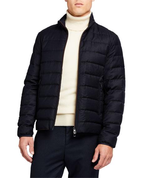 Loro Piana Men's Zip-Front Puffer Jacket