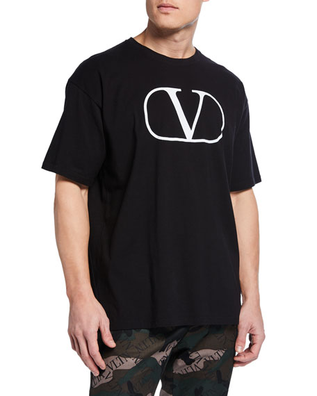Valentino Men's V Logo Graphic T-Shirt