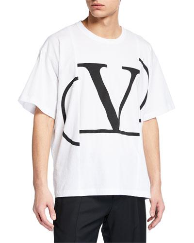 Men's Large-Logo Graphic T-Shirt