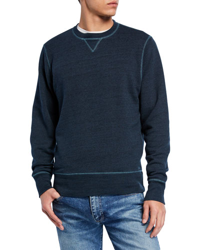 Men's Crewneck Heathered Sweatshirt