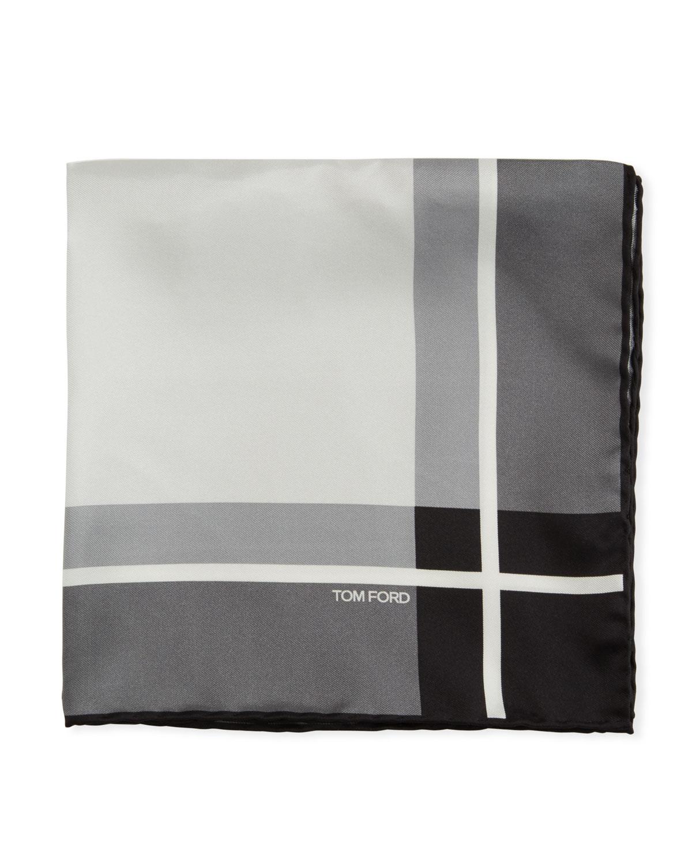a6ba5c0d Multicolor Squares Silk Pocket Square