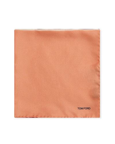 Multicolor Reversible Pocket Square