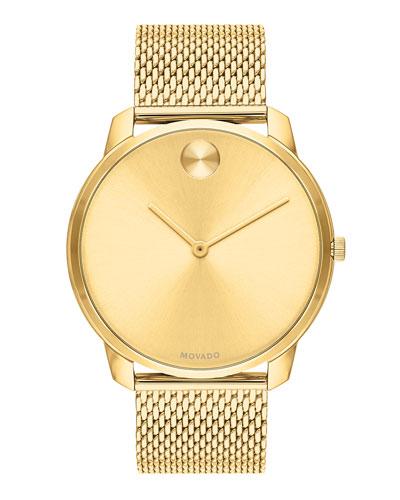 Men's Bold Thin Bracelet Watch