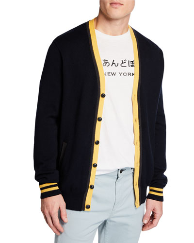 Men's Stockton Embroidered Cardigan