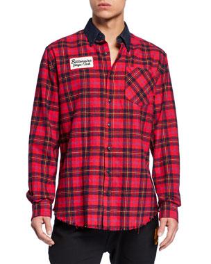 a28064a696e Billionaire Boys Club Men s Logo-Appliqué Jumpstart Sport Shirt