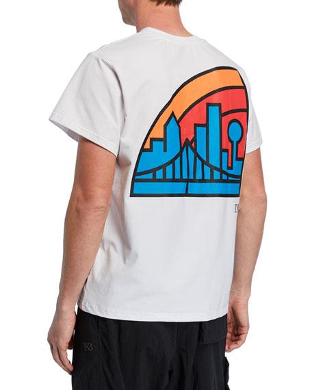 By Way of Dallas X Neiman Marcus Men's Dallas Skyline Graphic T-Shirt, White