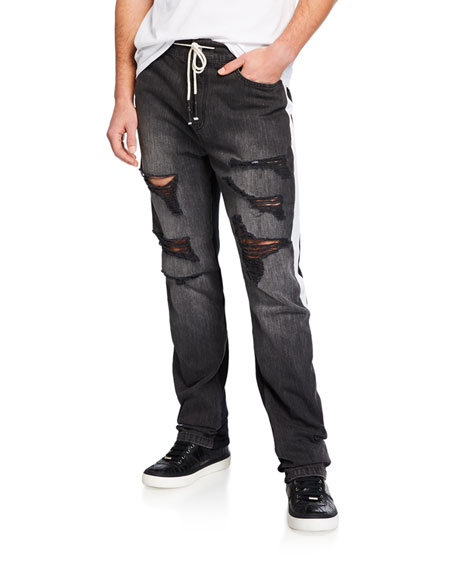 Mostly Heard Rarely Seen Jeans MEN'S DANTE HYBRID DRAWSTRING-WAIST JEANS