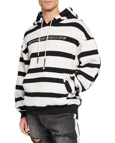Men's Hype Man Striped Hoodie