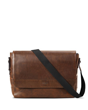 Shinola Men s Slim Navigator Leather Messenger Bag. Favorite. Quick Look df8ac925c5c2f